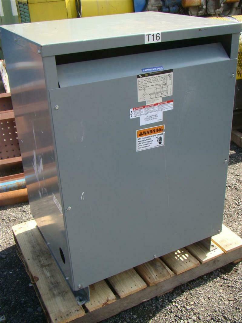 Details About Square D 3 Phase Transformer 208 X 208Y 120 Volt 75 KVA 75T85HFISNLP