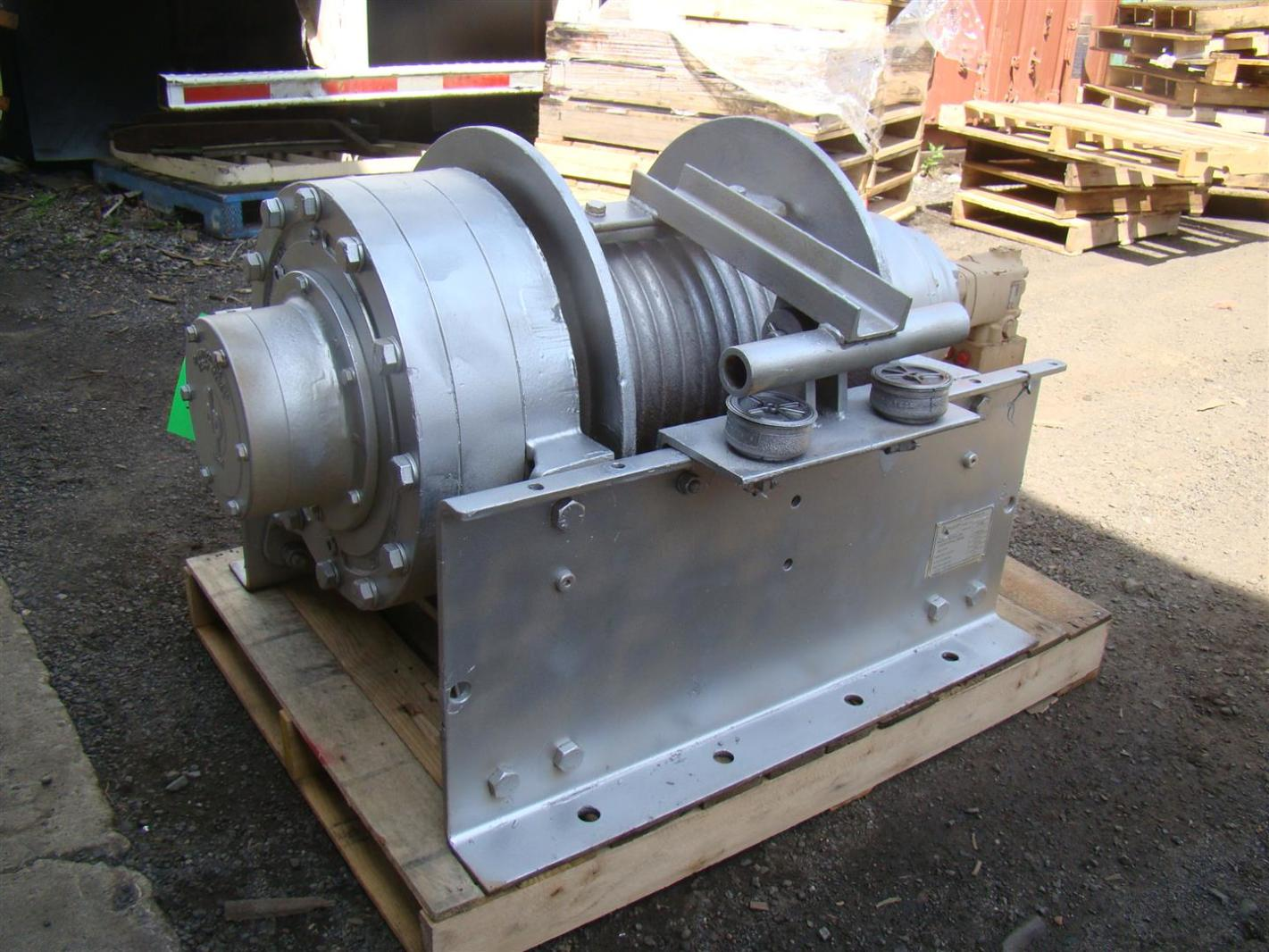 Details about DP Manufacturing Hydraulic Winch 55,000 lb Capacity Model  51882-R