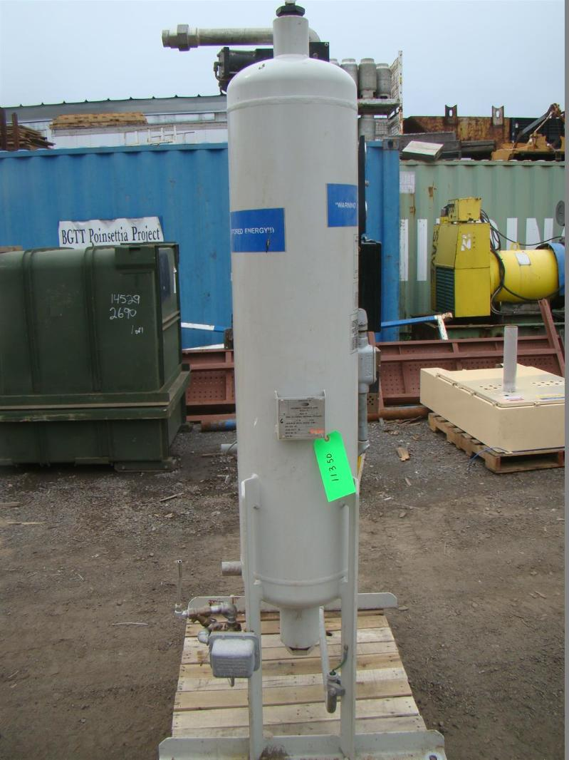 Pall dha series heat-less desiccant compressed air dryer t400 115v.