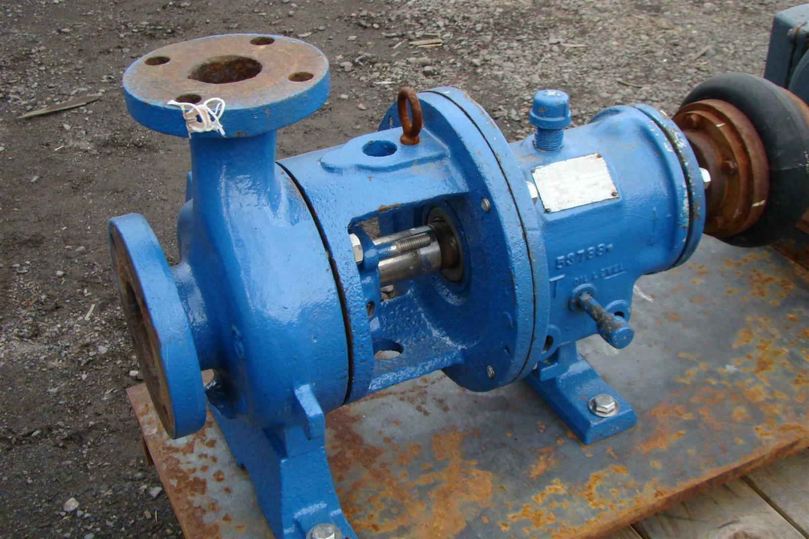Details about Goulds MT 7 5 HP 3 Phase Process Pump Size 4x6-10 3196