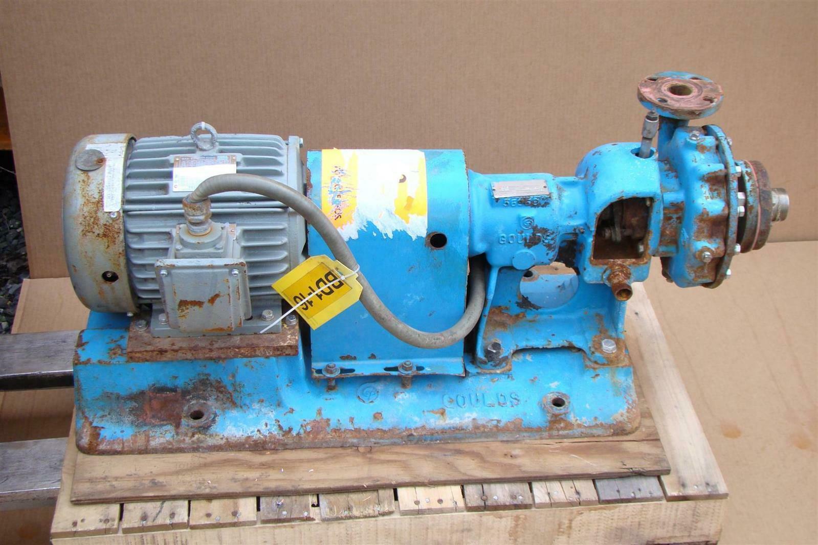 Details about Goulds Pumps 1 25x1 50-7 1750Rpm 6 75 717D918 3755