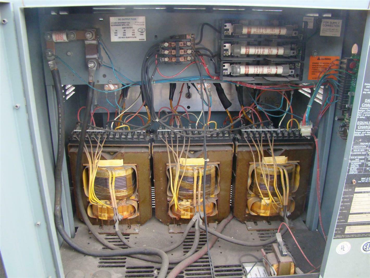 Hobart Accu Charger 24vdc Forklift 381 450 Ah 208 240 480v Battery Wiring Diagram