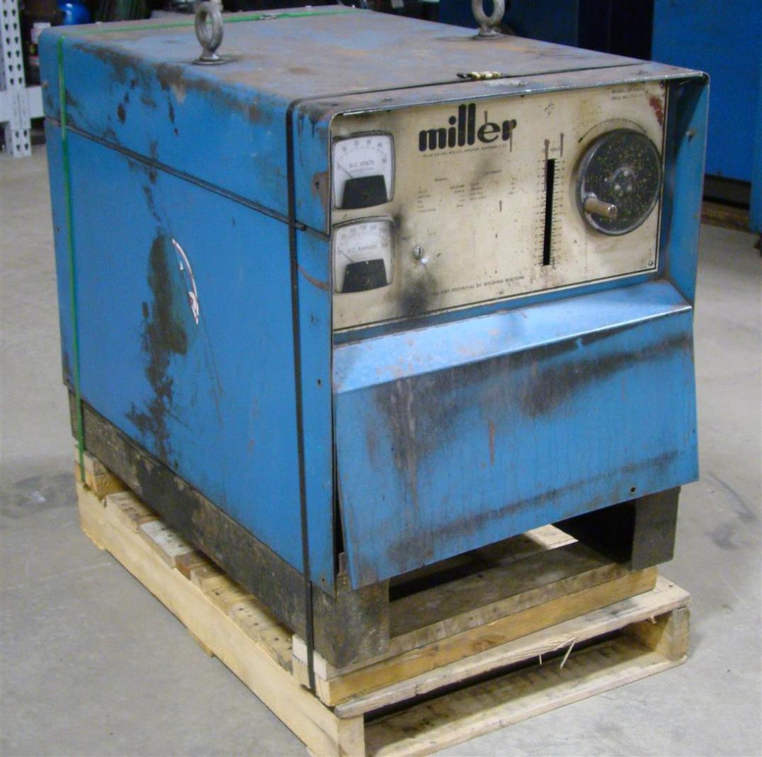 Miller Arc Welder >> Details About Miller Dc Arc Welder Cv Mig Power Source 208 230 460v 3 Phase Cp 250ts