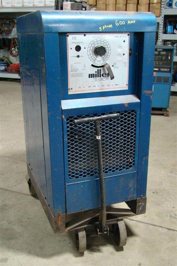 Miller Arc Welder >> Details About Miller 600a Dc Arc Welder Power Source 230 460v 3 Ph Sr 600
