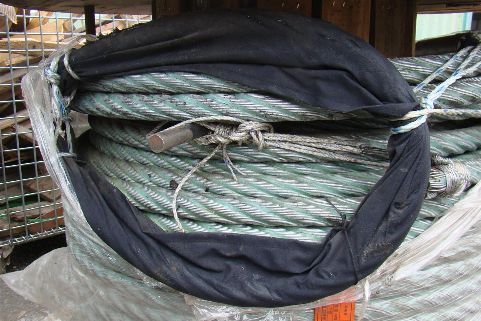 34mm x 200m STEEL CABLE 6x37 Mooring Cable Wire Rope | eBay