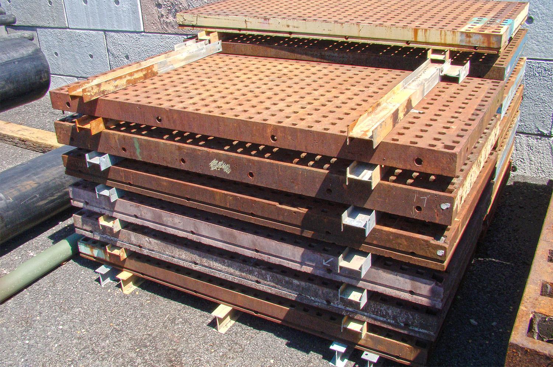 B Grade 5 Ft X 10 Ft Acorn Welding Platen Layout Table