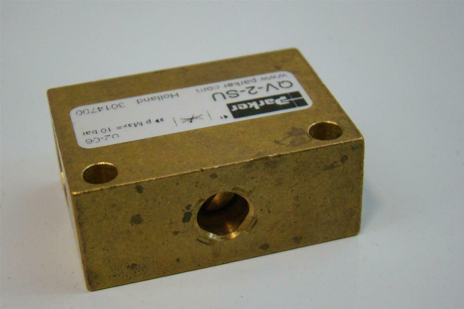 Nelson Stud Welding Henkel Chemical Management Valve Parker 10 bar QV-2-SU