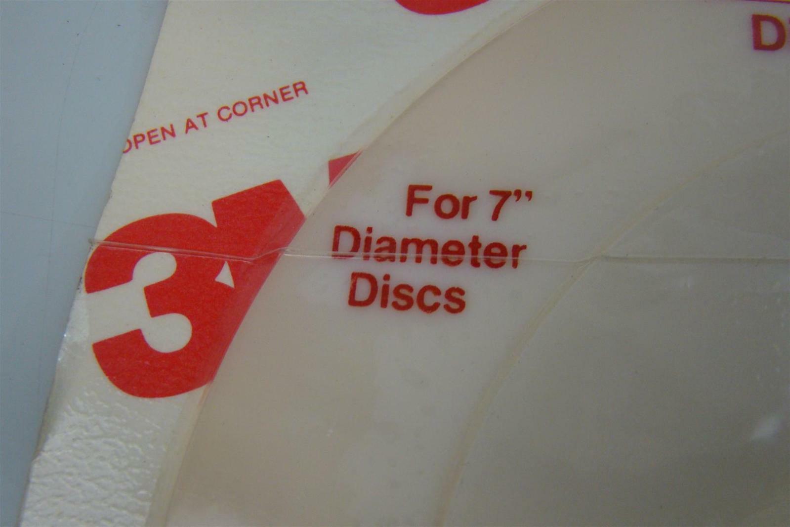 "3M 7/"" Diameter Disc Pad Face Plate Soft  0511144-45194"