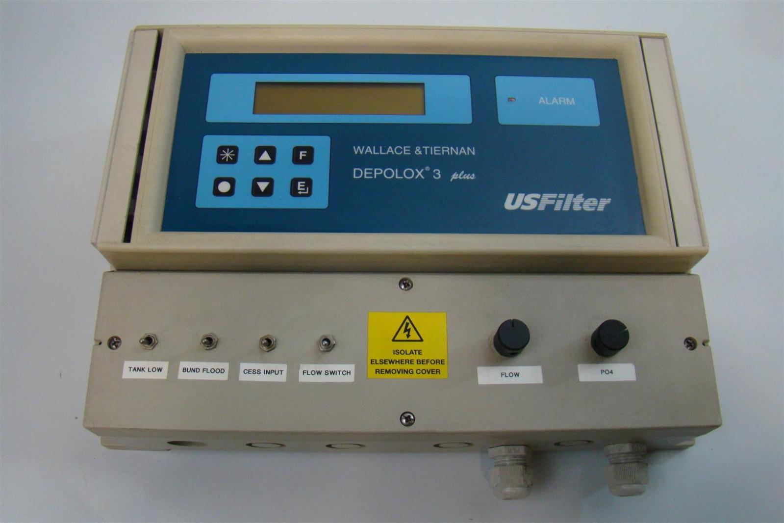 Wallace & Tiernan Products Deplox 3 PLus Residual Analyzer 50/60Hz 155Vac  0,315A