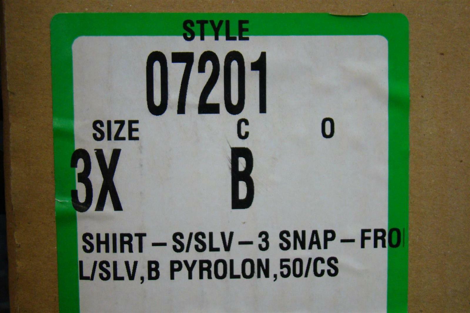 Lakeland Industries 2X Long Sleeves Shirt 07201B 50