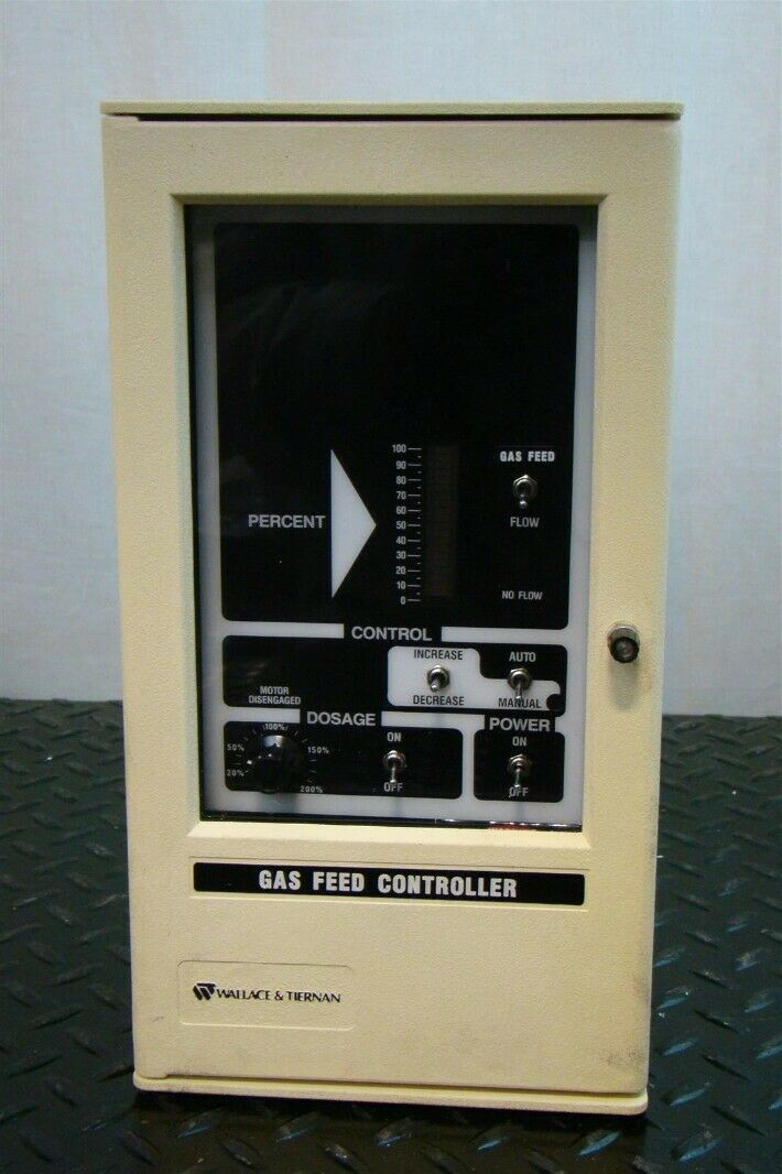 Details About Wallace And Tiernan Products Gas Feed Controller