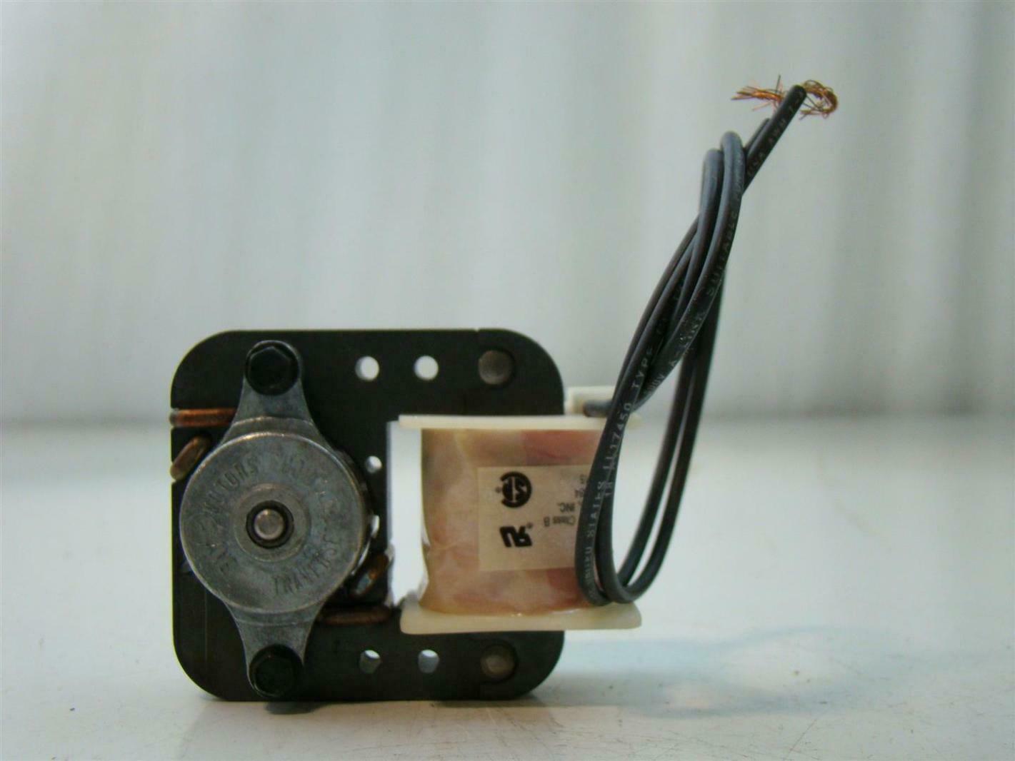 AO Smith Impedance Motor 3//16 x 1.0 PH1 230V RPM3000 .15Amps 60Hz J315