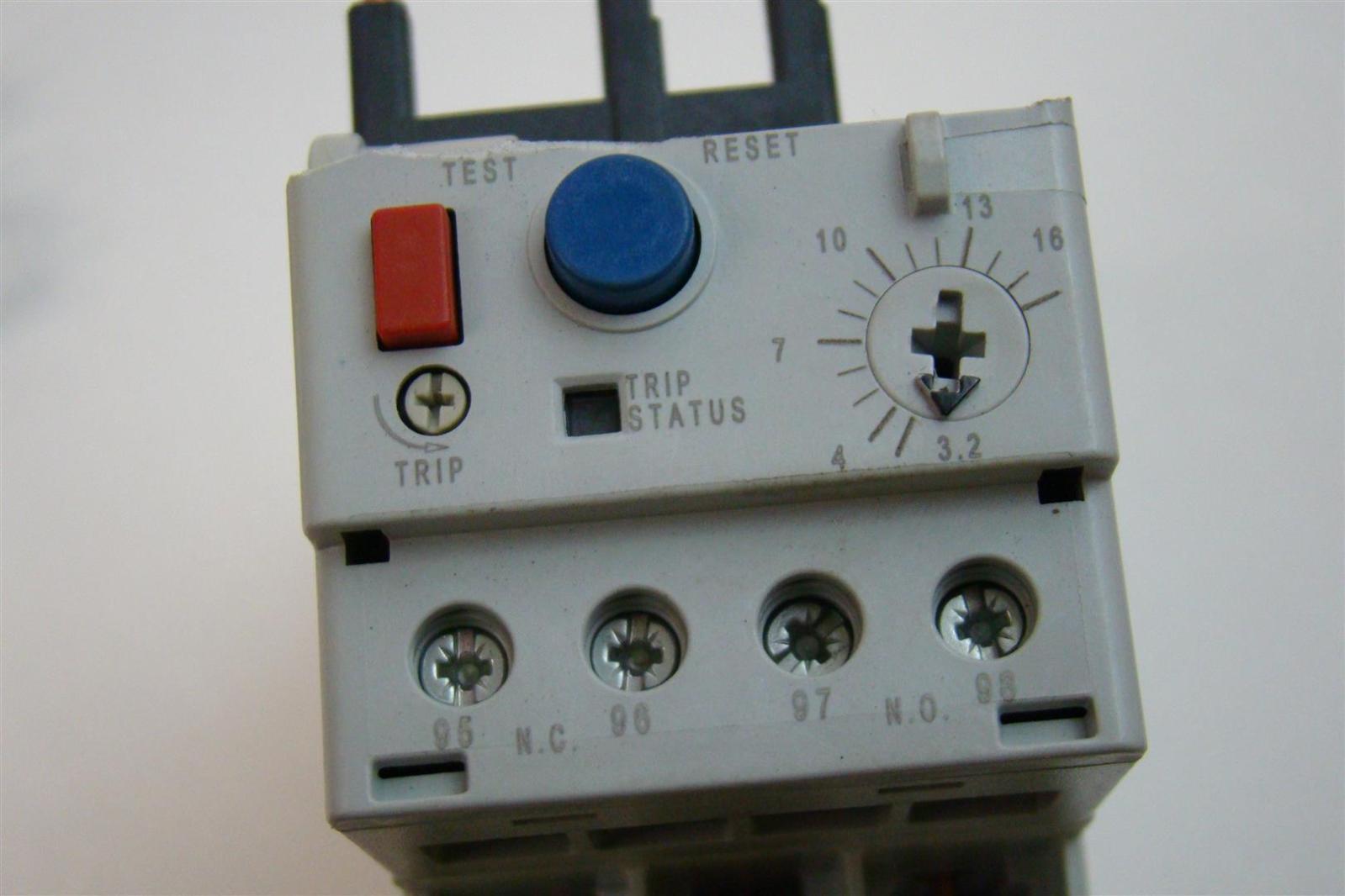 Allen bradley overload relay 193 eedb ebay for Allen bradley motor overload