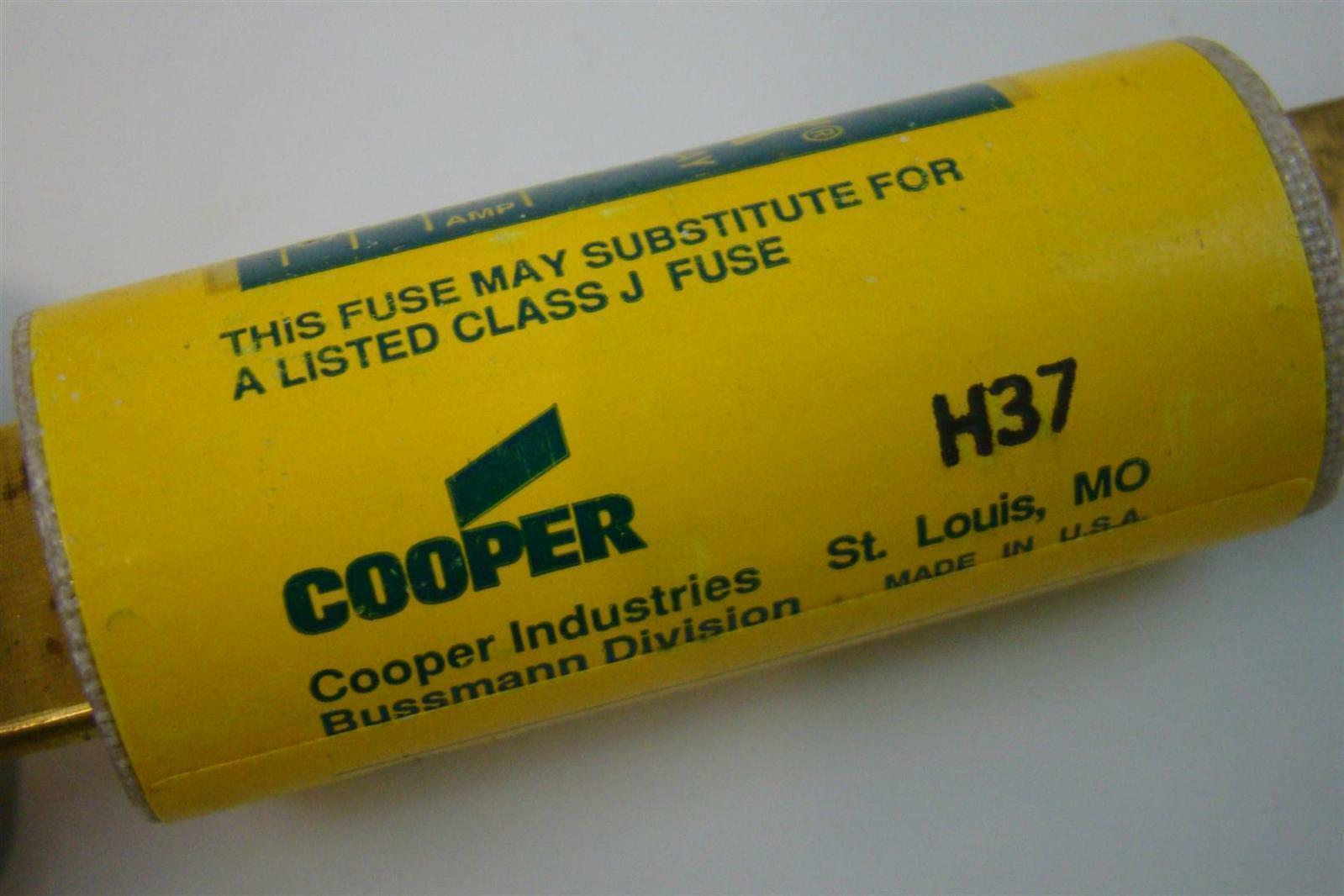 LOTS OF 6 CLASS J TYPE D 600V FUSE BUSSMANN LOW-PEAK LPJ-12SP
