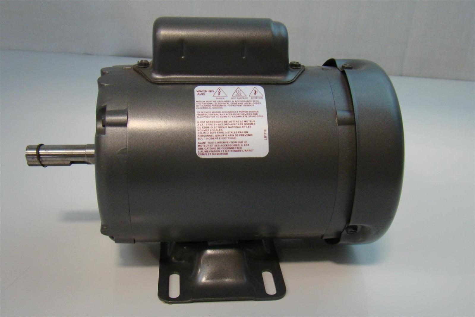 Baldor 1 3hp motor 110 220v single phase 1425rpm l3501 50 for Baldor electric motor parts