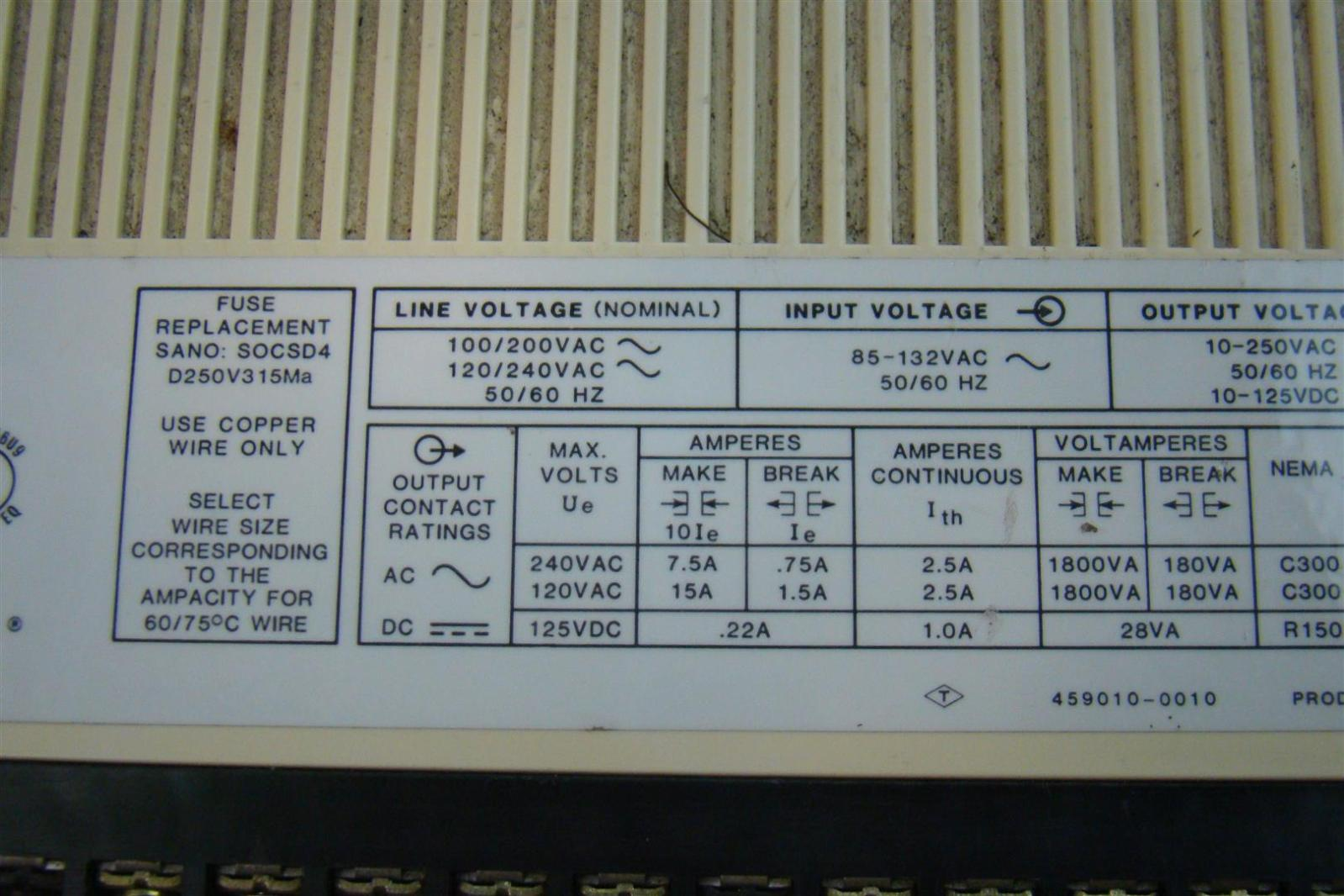 Allen-Bradley Programmable Controller SLC 100 Expansion Unit E11088 ...