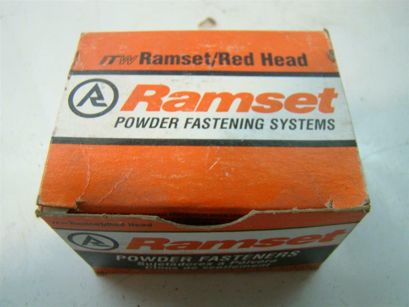 Ramset 1508 Box of 100 1 Head Drive Powder Fastener 2-Pack