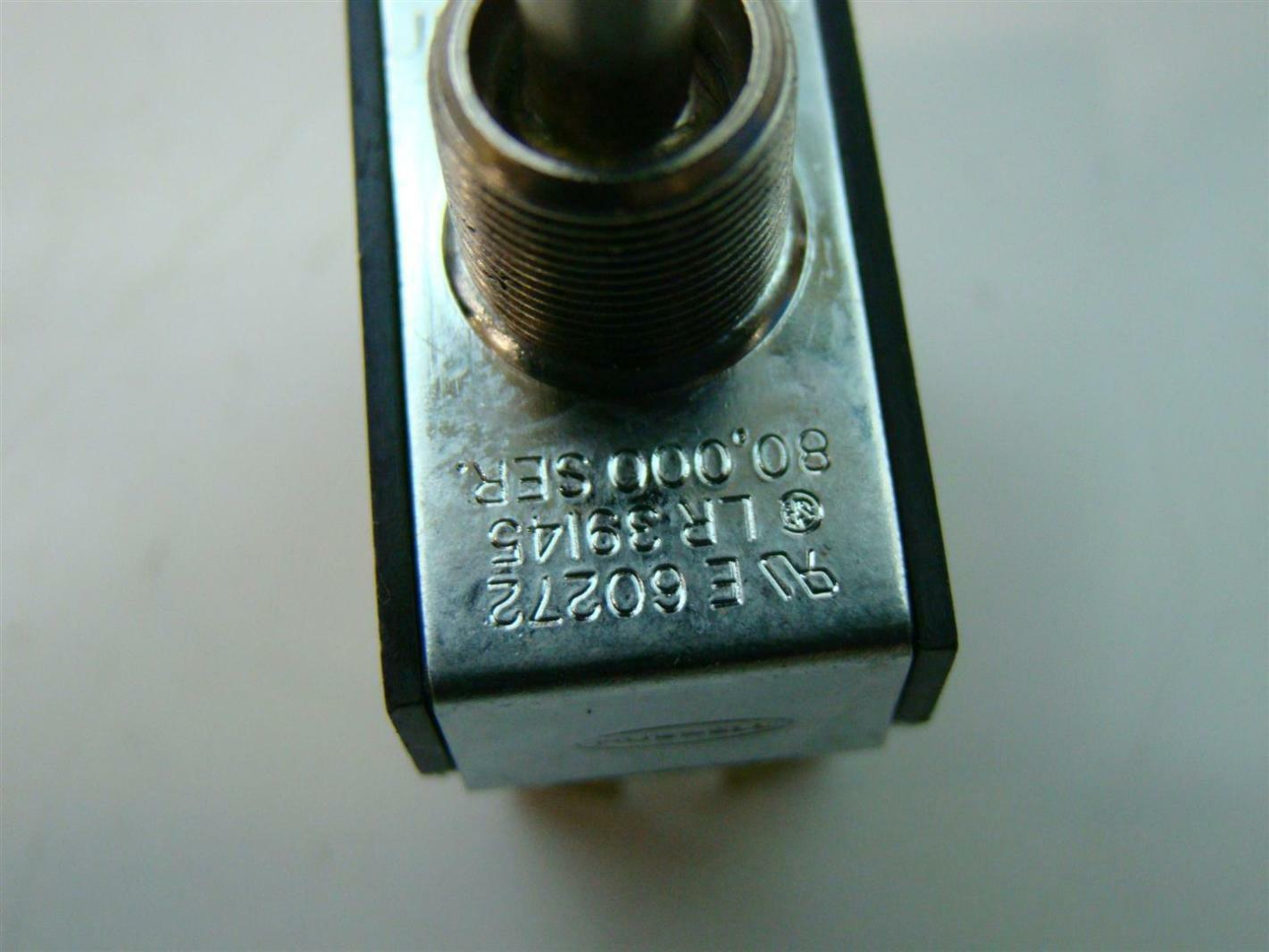Hubbell Switch Specialty Switches 1 2hp 125