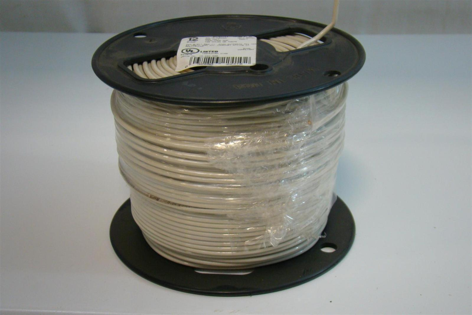 12 Solid Copper 500 FT T90 Nylon Insulated Wire TWN75 YM-680,590 ...