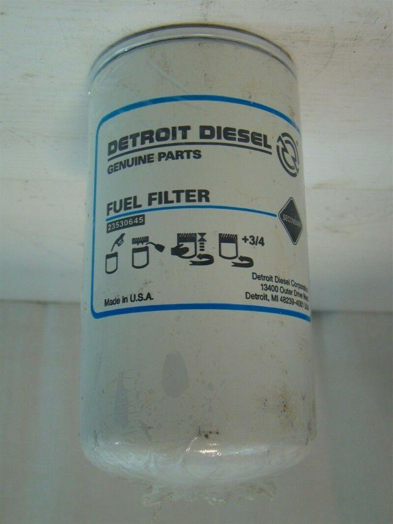 detroit diesel fuel filter 23530645 ebay Detroit Diesel Transfer Pump detroit diesel fuel filter 23530645