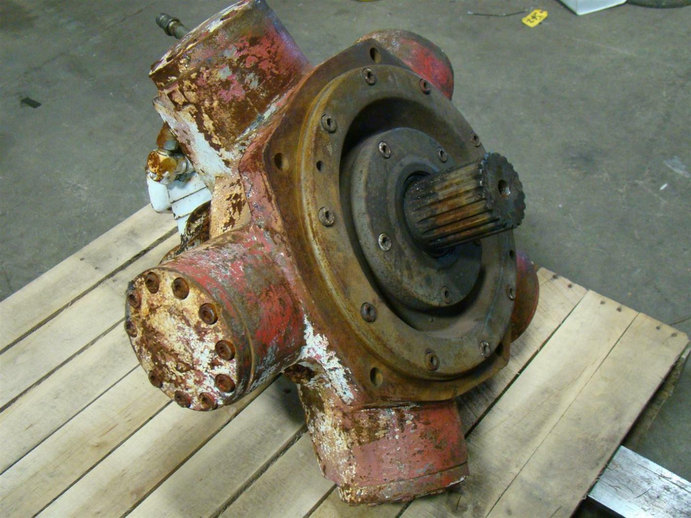 Staffa radial piston hydraulic motor s53502 ebay for Hydraulic pumps and motors for sale