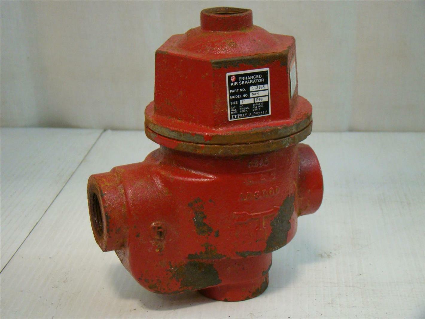 Bell /& Gossett 112105 Enhanced Air Separator