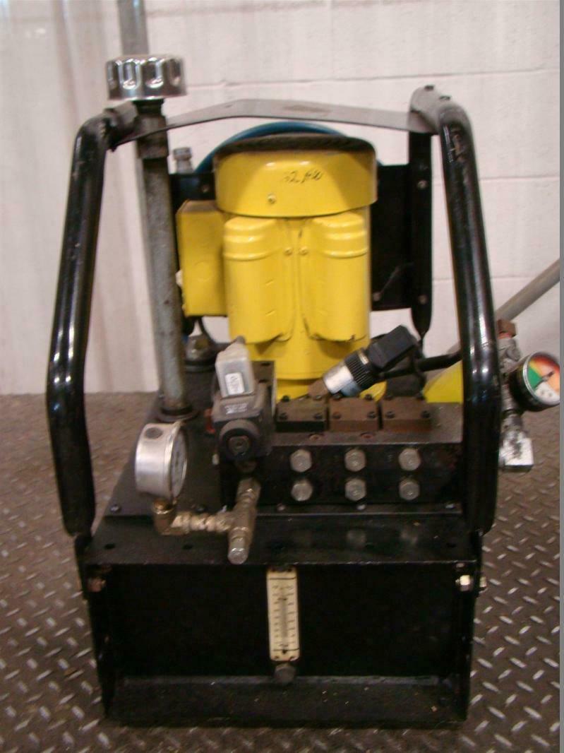 Enerpac Electric Hydraulic Pump 5000psi 350bar Vst2210d Ebay Wiring Diagram