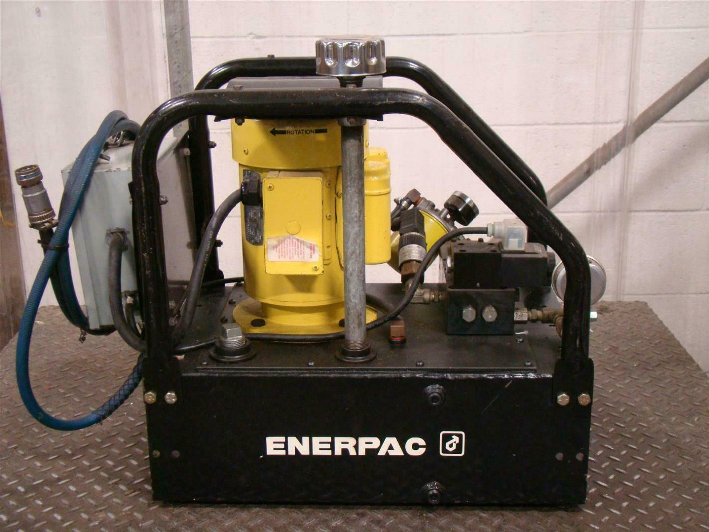Electric Hydraulic Pump >> Details About Enerpac Electric Hydraulic Pump 5000psi 350bar Vst2210d