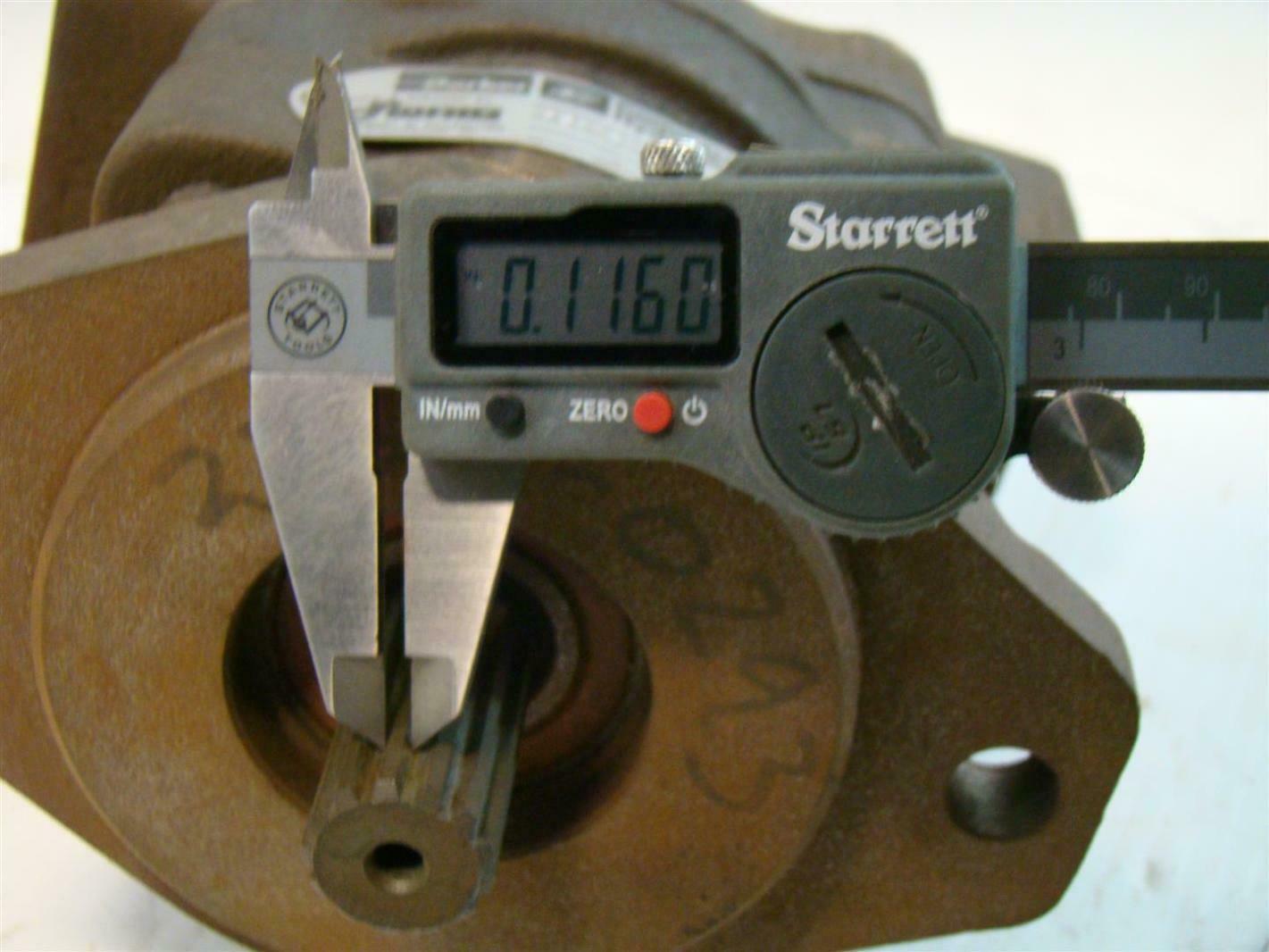 Florig parker commercial hydraulics pump 1 1 4 p244942 ebay for Parker hydraulic pumps and motors