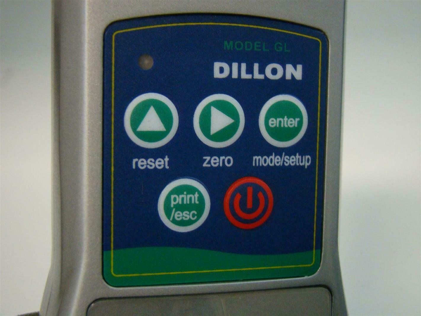 Dillon GL Digital Force Gauge 061200000064 36321 0030 RS-232C