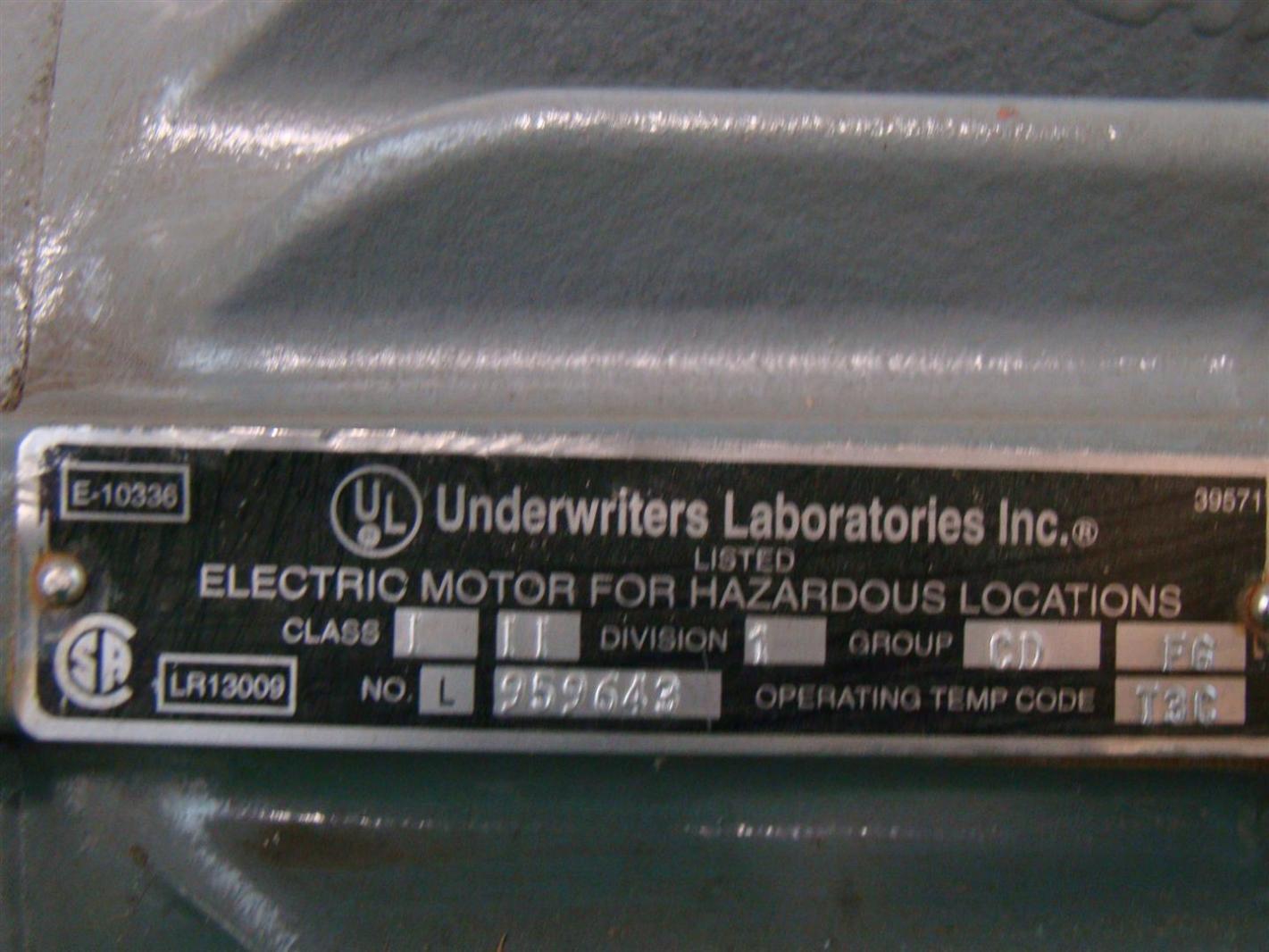 US Motors Emerson Electric Motor 15HP 230/460V 3Ø 1775Rpm AF96 X15E2B