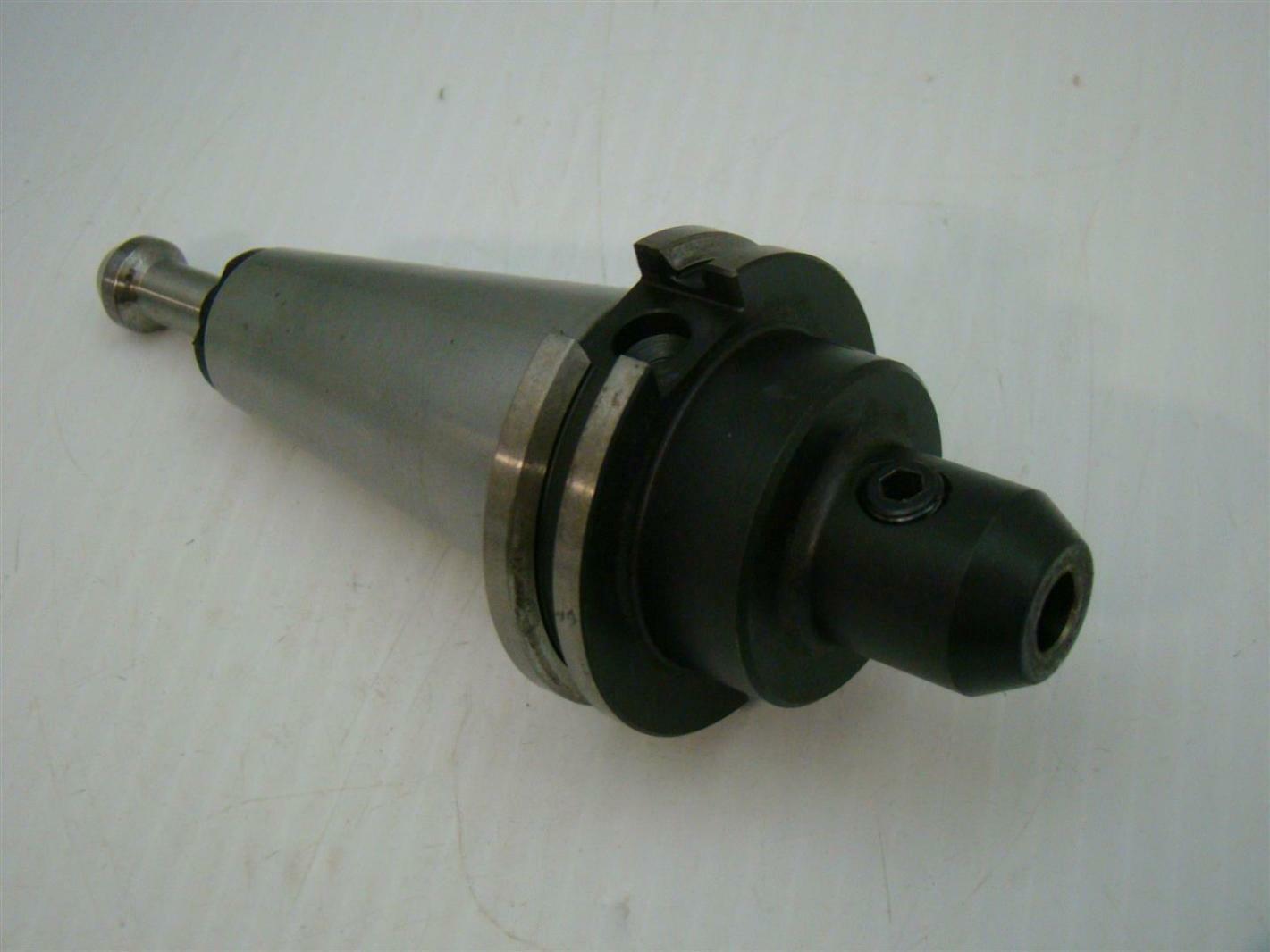 "Lyndex-Nikken C4006-0375-2.50 3//8/"" 2.50/"" Proj CAT40 Precision End Mill Holder"