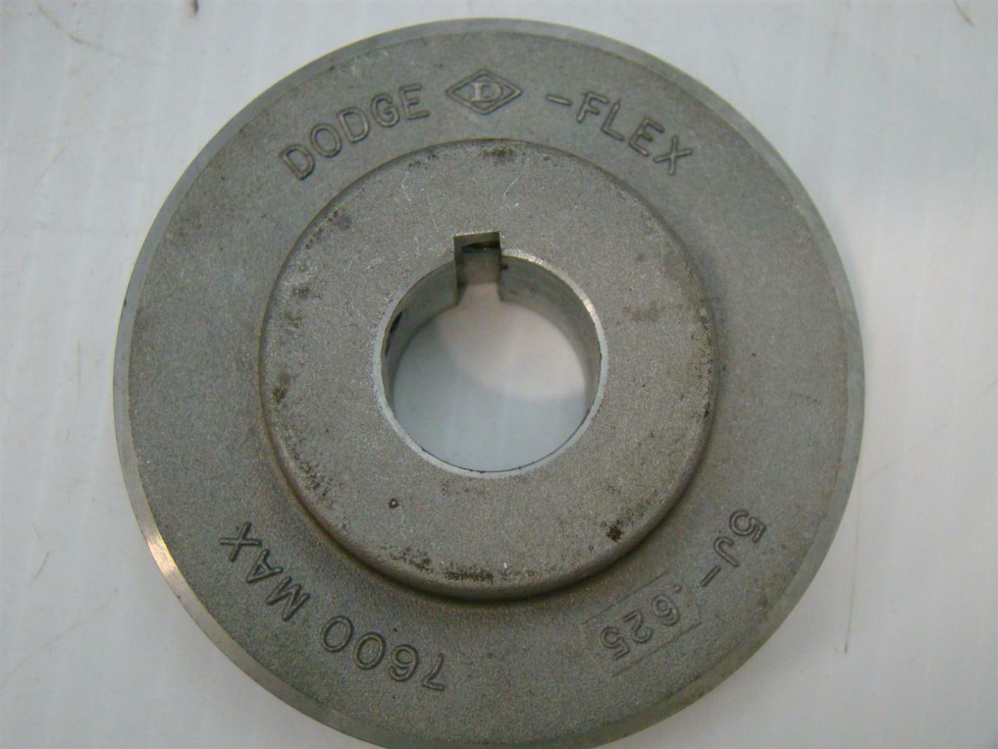 """Dodge-Flex Martin Steel 7600 max 7//8 x 7//8/"""" Aluminum 5J-625"""
