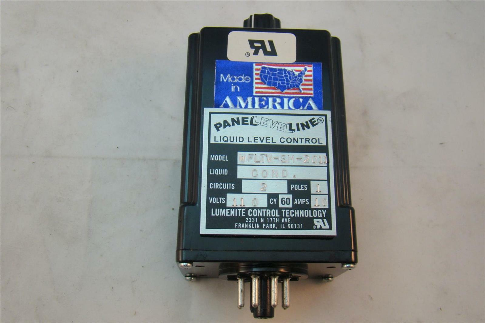 Lumenite 110 V 10 Amps 1 Pole Level Control Relay Wfltv Sm2011 Ebay 120 Volt Wiring Diagram