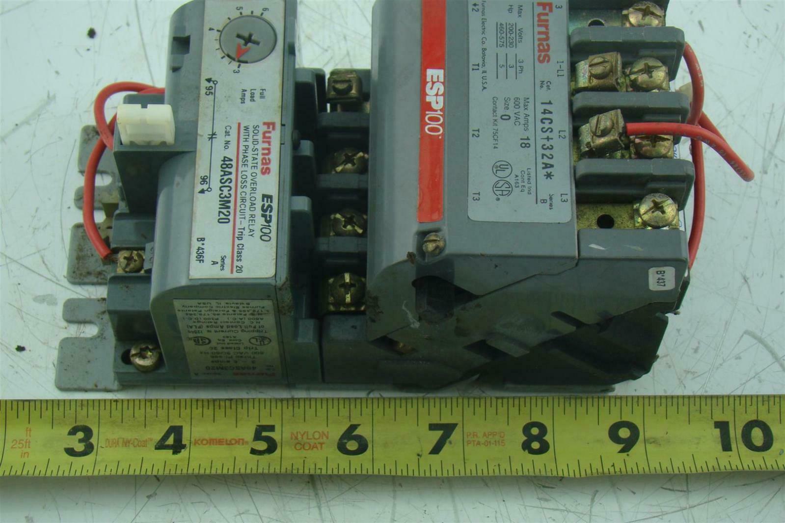 Furnas Magnetic Starter Wiring Diagram Explained Diagrams Motor Esp100 Overload Relay Schematics Air Compressor 220v