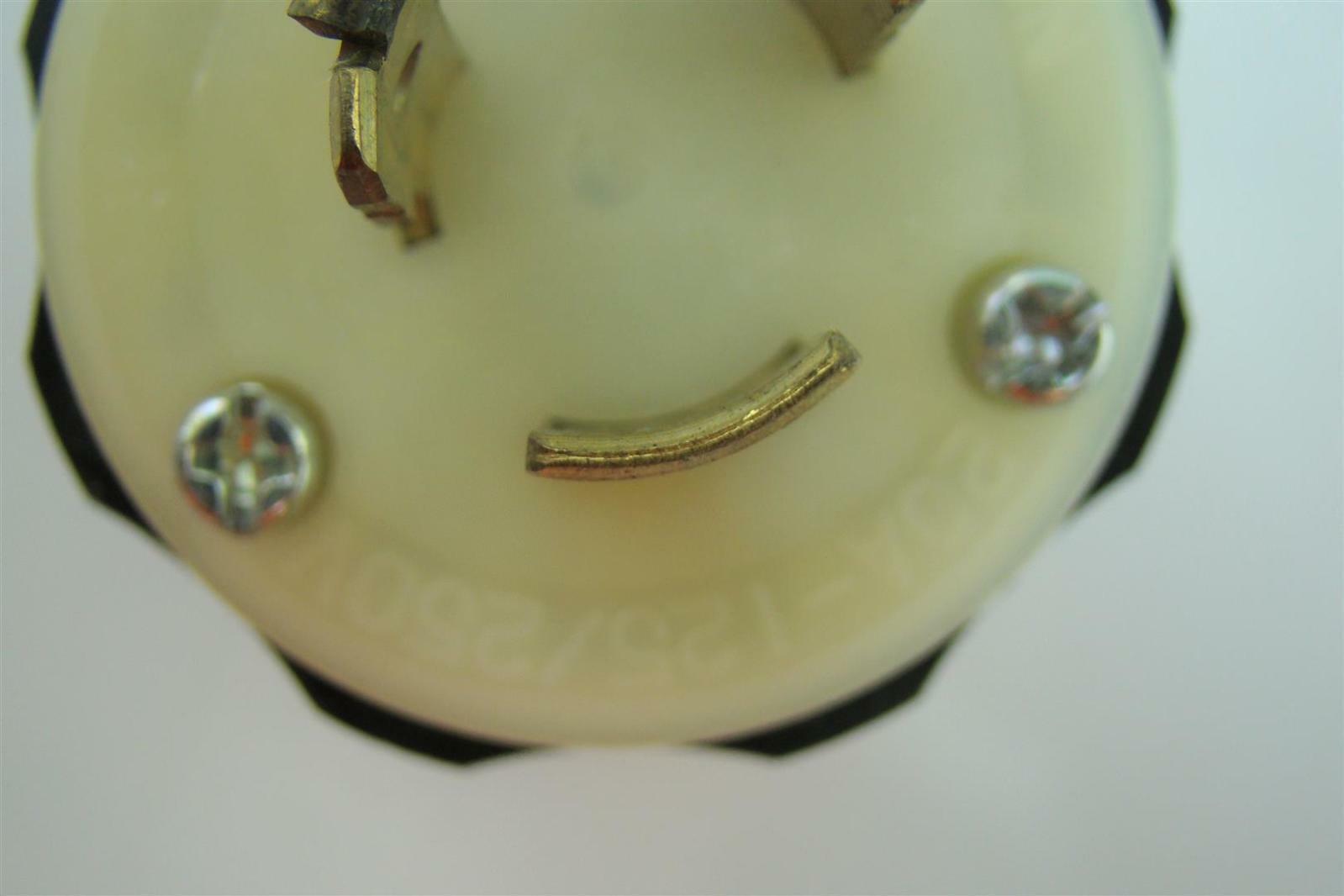 Leviton 9965-C 20Amp 125/250V Locking Plug 9965-C   eBay