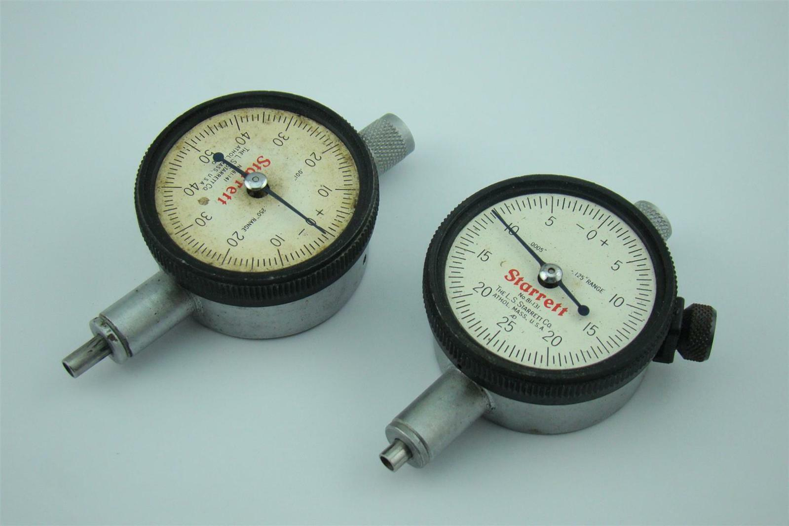 Starrett Dial Indicator >> 2 Starrett Dial Indicator Gauge 81 131 Joseph Fazzio Incorporated