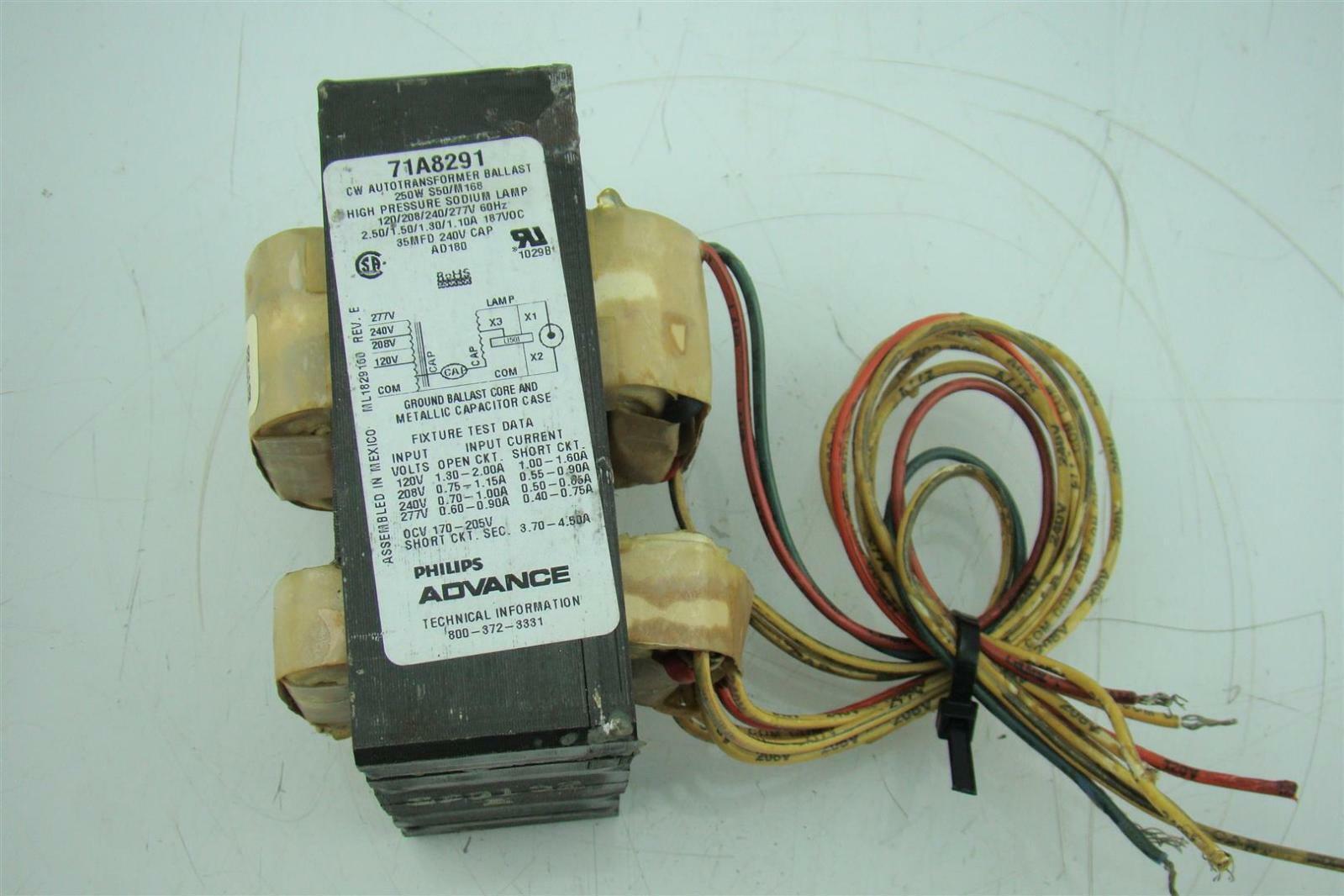 PHILIPS ADVANCE 71A8493-001DC PHILIPS ADVANCE 400 W 1 Lamp HID Ballast Kit