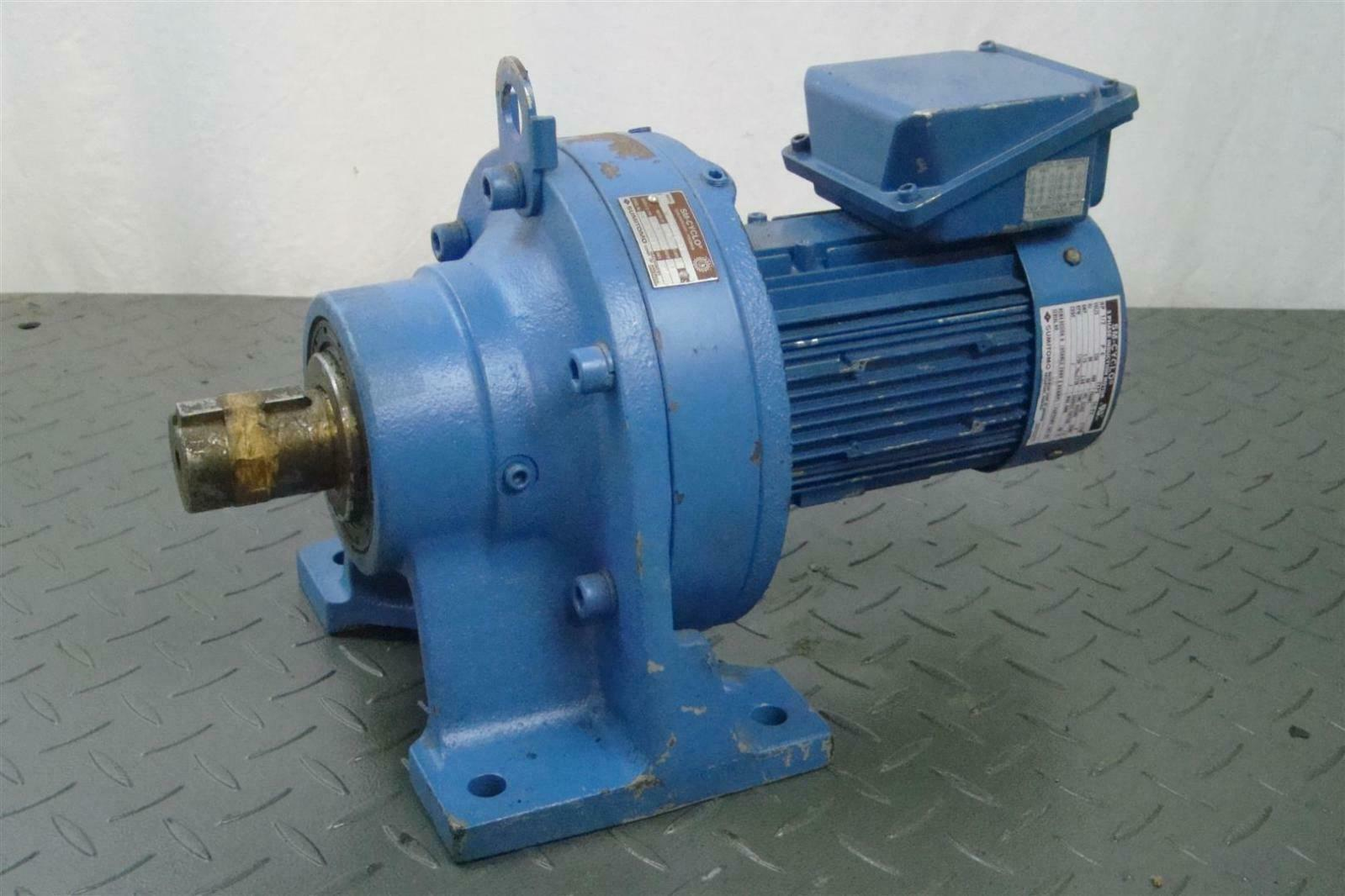 Sumitomo sm cyclo cnhm05 6128vc 43 induction motor 1 2hp for 1 2 hp induction motor