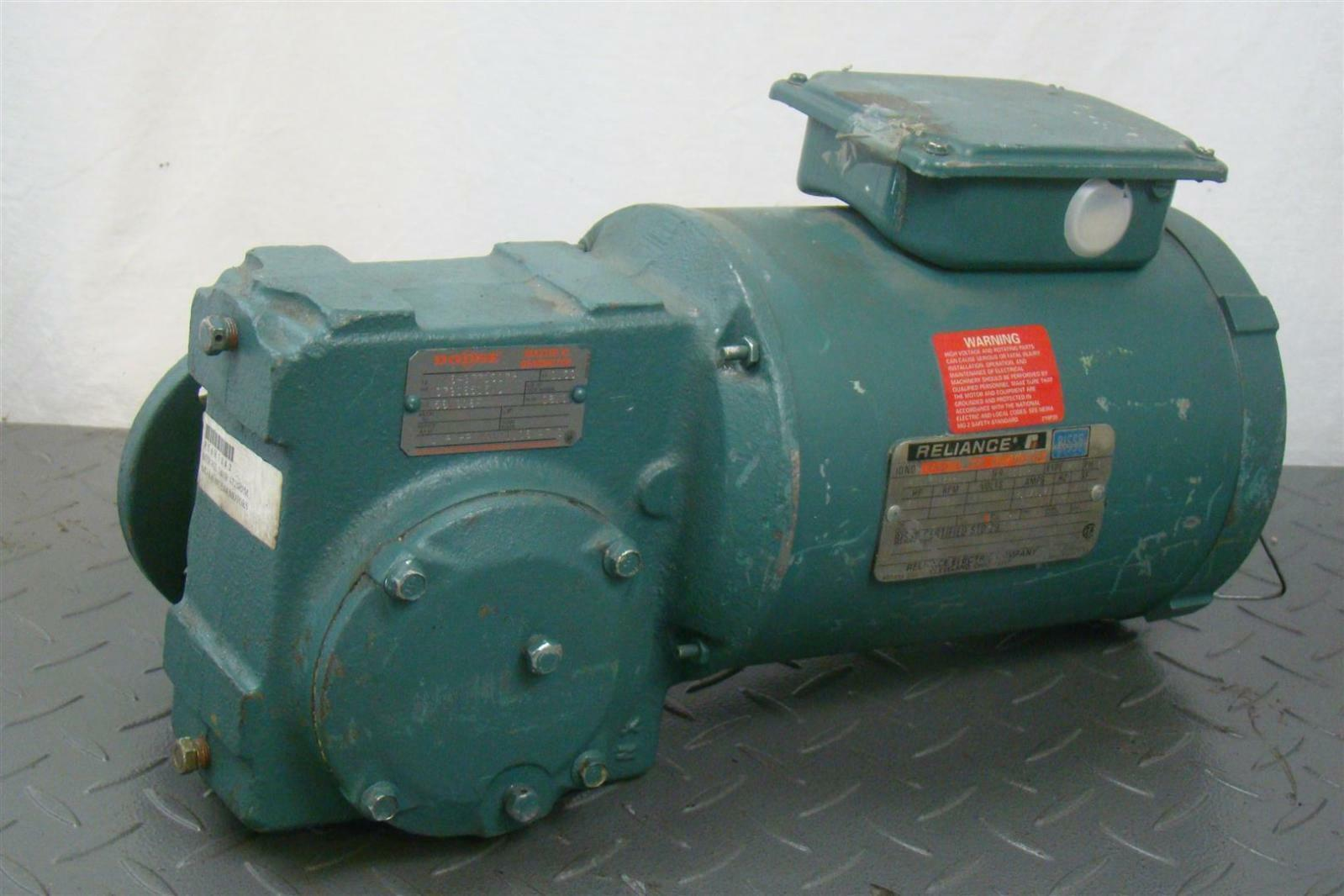 electric motor. RELIANCE 3/4HP ELECTRIC MOTOR VOLTS: 230/460V 60 Hz 3 Phase P56H3842P Electric Motor -