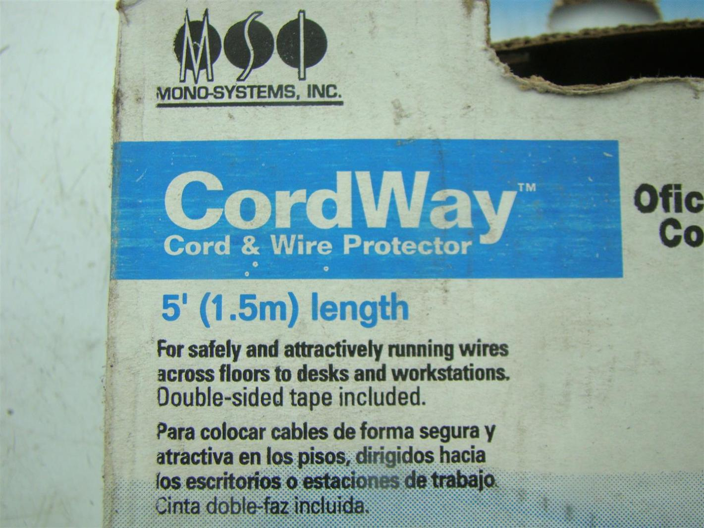 CORDWAY - CORD AND WIRE PROTECTOR 34.5\