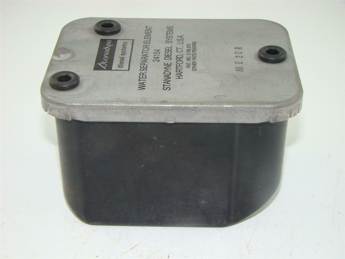 Stanadyne Fuel Filter Housing Screen Wiring Diesel Water Separator System 24154