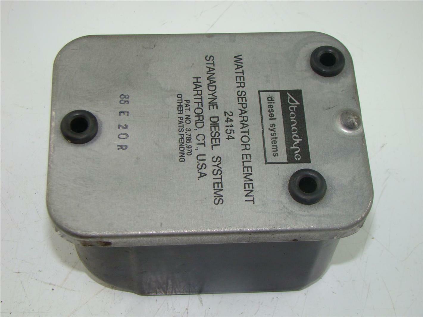 Stanadyne Diesel Fuel Filter/ water separator system 24154