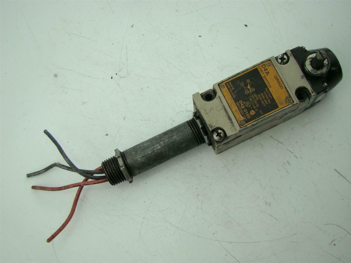 Omron 600Vac D4A Limit Switch D4A-0100 | eBay