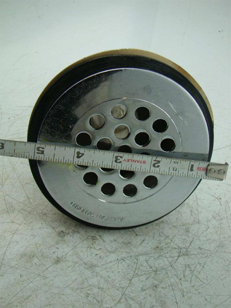 """4436 AB/&A PVC 2/""""x3/"""" Drain w// Steel Grid"""