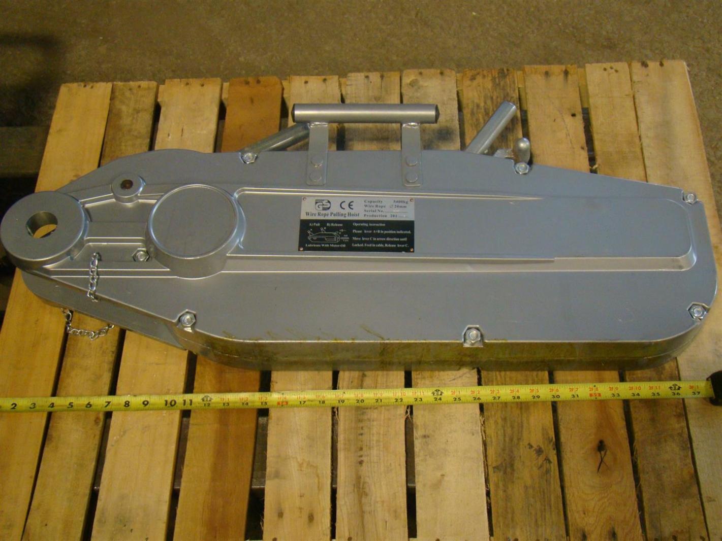 GS Alambre Cuerda Tirar Polipasto 20 mm 5400 Kg Cap. 15003 | eBay