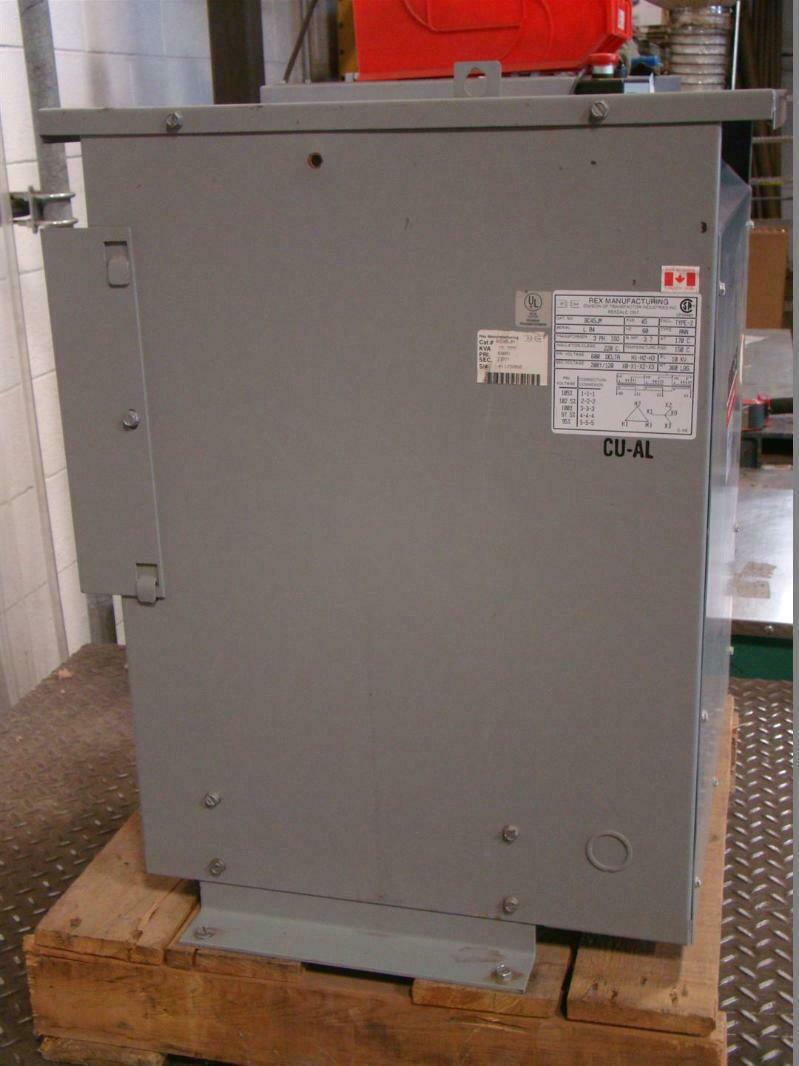 Rex Manufacturing Transformer Wiring Diagram Schematic Diagrams 45 Kva 3ph Iso 45kva 600dx208y 120 Bc45jm 480 Volt