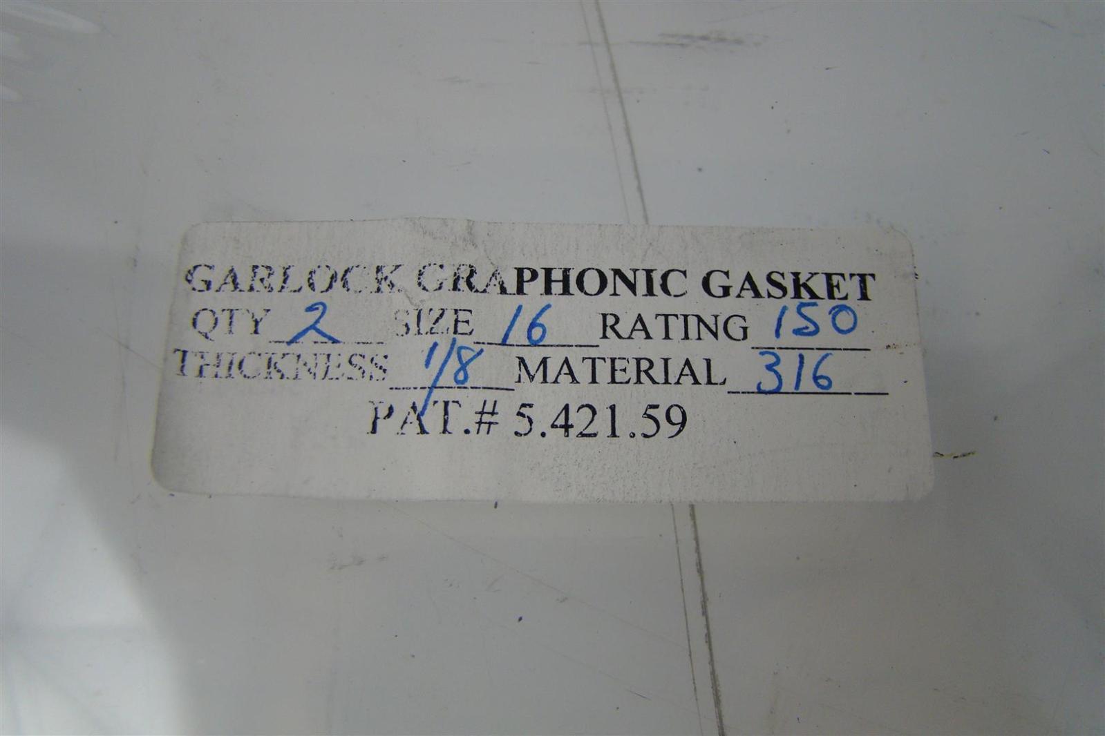 """GARLOCK 1//16/"""" STYLE 3510 2-1//2/"""" 150# RING GASKET 37709-0194"""