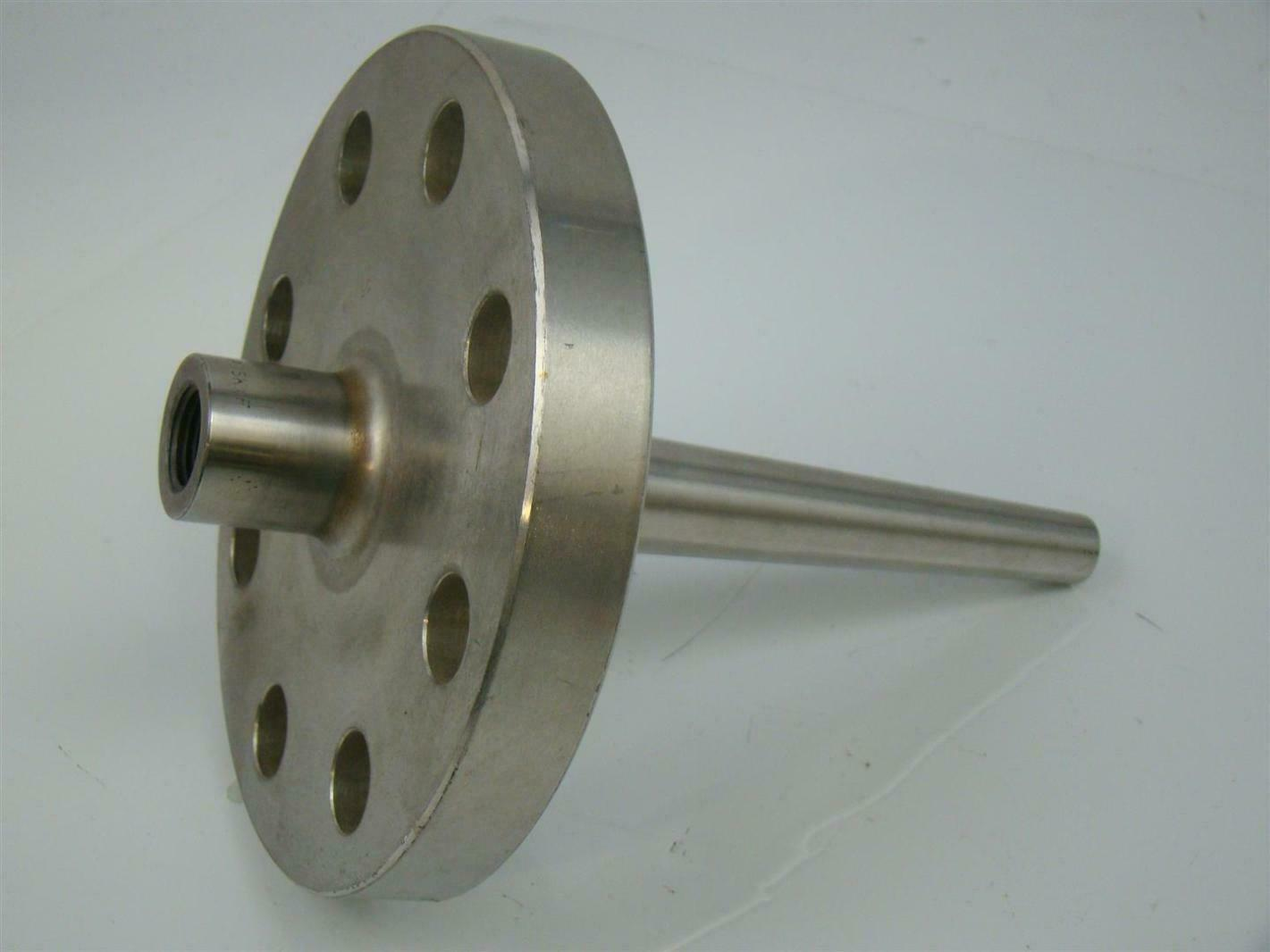 Flanged thermowell quot fpt ss b k xf rf l ebay