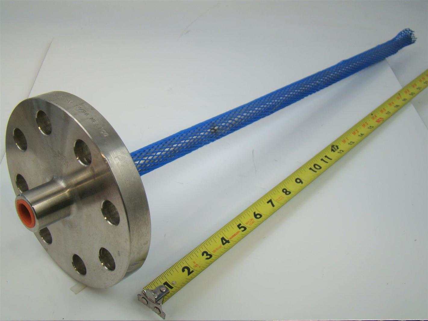 Flanged thermowell quot fpt b sa f l